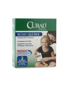 CURAD Instant Cold Pack 5x6 Single Use 24Ct