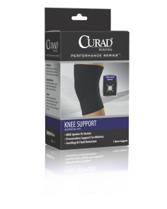 CURAD Neoprene Knee Support with Closed Patella M 4Ct