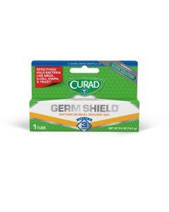 CURAD Germ Shield Antimicrobial Wound Gel 0.5oz 12 Ct
