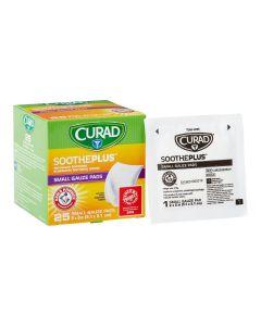 CURAD SoothePlus Gauze Pad ARM & HAMMER 2x2 600Ct