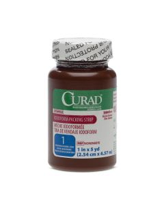"""CURAD Sterile Iodoform Packing Strip 1""""x5yd 1 Count"""