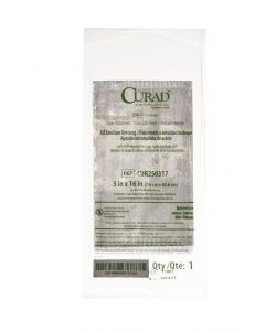 CURAD Sterile Oil Emulsion Nonadherent Gauze Dressing