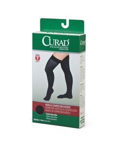 CURAD Thigh-High Medical Compression Hosiery