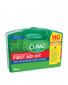CURAD 140 Piece First Aid Kit