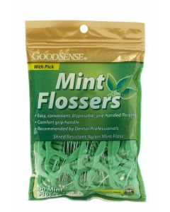 GoodSense Mint Flossers 90 Count OTC004458 by GoodSense