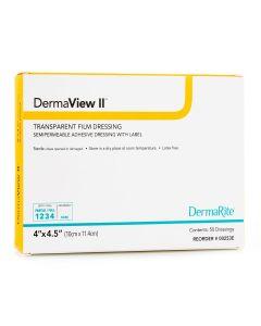DermaView II Transparent Adhesive Film Dressings by Dermarite