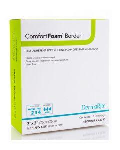 ComfortFoam Self-Adherent Foam Border Dressings