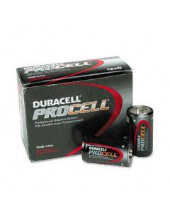 Duracell Procell Alkaline Batteries, Size D