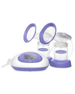 Lansinoh SignaturePro Double Electric Breast Pump with Bottles