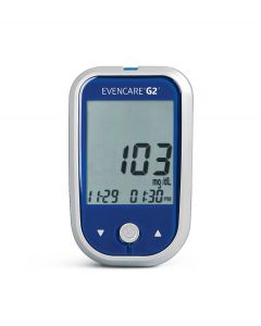 EVENCARE G2 Blood Glucose Monitoring System with Voice Guidance