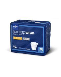 Medline Extended Wear High-Capacity Disp Briefs - All PF145326 by Medline