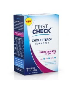 First Check Home Cholesterol Test