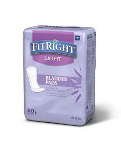 Medline FitRight Bladder Pad 3.5x9 Light 240Ct
