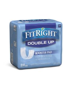 Medline FitRight Double Up Thin Incontinence Booster Pads