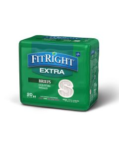 Medline FitRight Extra Disposable Brief S 80Ct