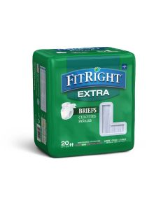 Medline FitRight Extra Disposable Briefs - Shop All PF22355 by Medline