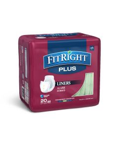 Medline FitRight Plus Incontinence Liner 13x30 20Ct FITLINER300Z by Medline