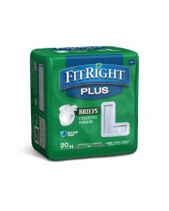Medline FitRight Plus Incontinence Briefs