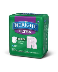 Medline FitRight Ultra Incontinence Briefs