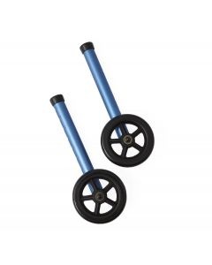"Folding Paddle Walkers with 5"" Wheels"