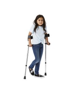 Guardian Aluminum Forearm Crutches, Youth, One Pair