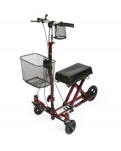 Medline Gen 2 Weil Knee Walker Burgundy 1Ct