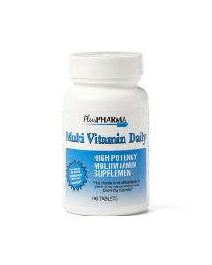 PlusPharma High Potency Daily Multivitamin 100/BT OTC074301 by Geri-care Pharmaceuticals