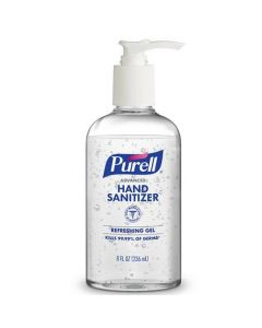 Purell Advanced Soothing Gel Hand Sanitizer 8oz 12Ct