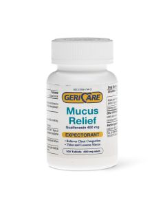 Guaifenesin Mucus Relief Tablets - Shop All PF11044 by Medline