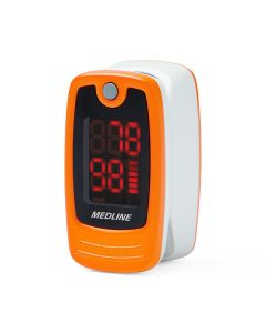 Soft Touch Fingertip Pulse Oximeter, Digital Display, Adult
