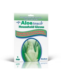 Aloetouch Latex Household Glove, Size M