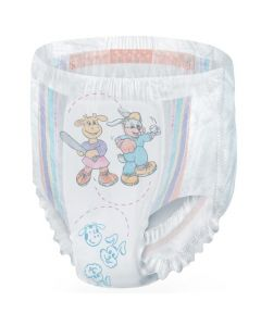 Medline DryTime Disposable Potty Training Pants, Size 3T-4T