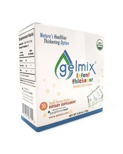 Gelmix Thickener for Breastmilk and Formula, 2.4 g Sticks, Box of 30