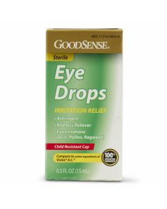 GoodSense Irritation Relief Ophthalmic Solution Eye Drops, 0.5oz
