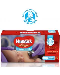 Little Snugglers Micro-Preemie Diapers, Size Micro Preemie, Up to 4lb.