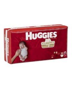 Huggies Newborn Diapers, 0-10 lbs. Bag of 36