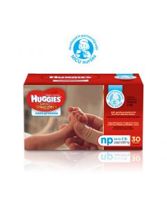 Huggies Little Snugglers Infant Diapers, Size NP < 2 lb(0.9 kg)