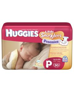 Huggies Preemie Diaper, Up to 6 lb.