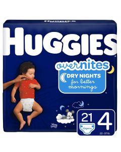 OverNites Diaper, Jumbo Pack, Size 4, 21/Pack
