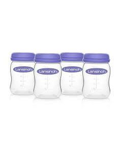 Lansinoh Breastmilk Storage Bottles, 8oz