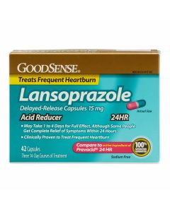 GoodSense Delayed-Release Lansoprazole 42Ct