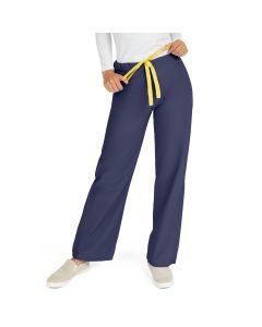 AngelStat Unisex Reversible Drawstring Waist Scrub Pants, Size L