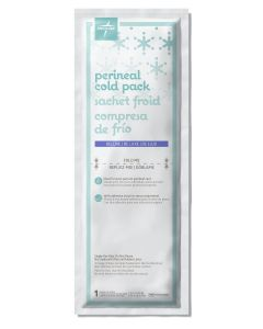 Deluxe Perineal Cold Pack OB Pads, 4.5 x 14.25in, Case of 24