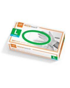 Accutouch Synthetic Exam Gloves, Size L