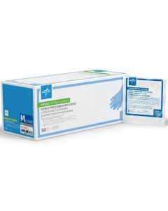 Medline SensiCare Extended Cuff Nitrile Gloves - All