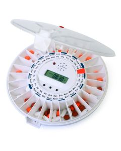 Automatic Pill Dispenser Clear Top 28 Slots
