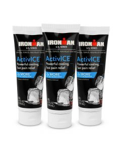 Medline IRONMAN ActivICE Topical Cooling Gel 4oz 3Pack