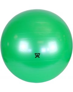 Inflatable Exercise Ball, Green, 26in, 300 lbs Weight Capacity