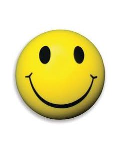 Smiley Face Gel Hand Exerciser
