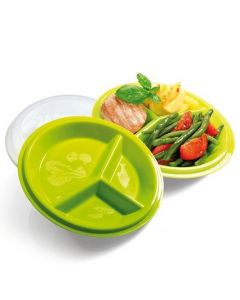 Diabetes Portion Plates with Lid